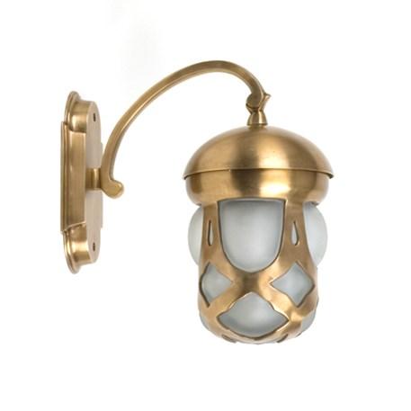 Buiten Wandlamp Unica in brons