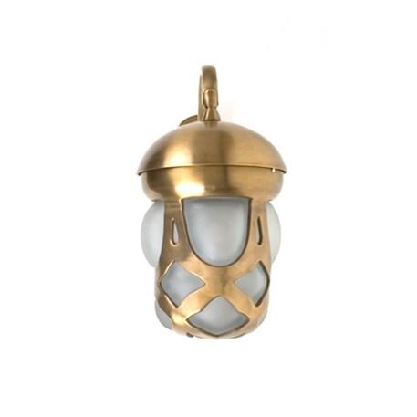 Buiten Wandlamp Jugendstil in brons