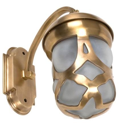 Buitenlamp Art Nouveau Brons