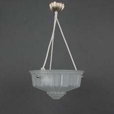 Franse Art Deco Hanglamp Geometrique