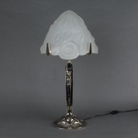 Franse Art Deco Tafellamp Triangle