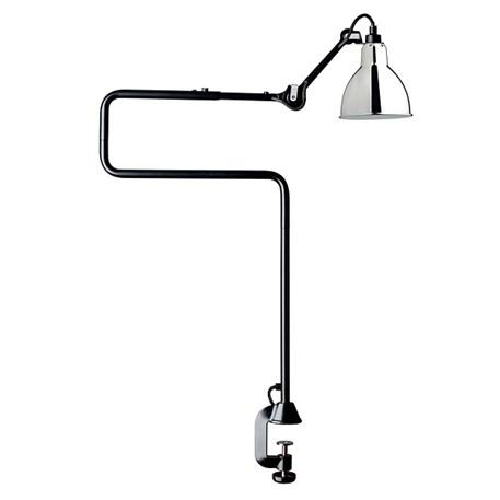 La Lampe Gras Tafel- / Klemlamp in Zwart/Chroom