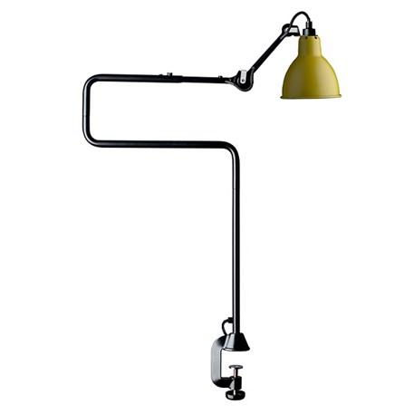 La Lampe Gras Tafel- / Klemlamp in Zwart/Geel