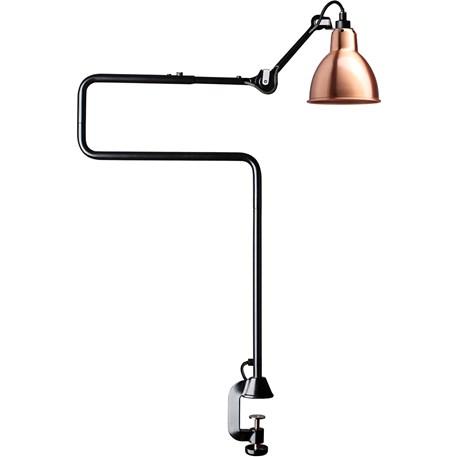 La Lampe Gras Tafel- / Klemlamp in Zwart/Koper