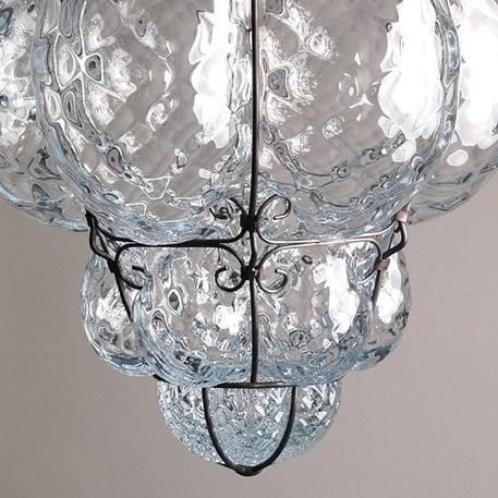 Detail Venetiaanse Hanglamp Middel Bellezza Helder