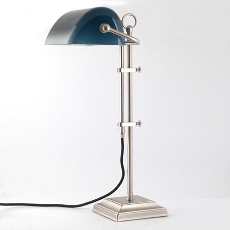 Tafellamp Banker Blauw