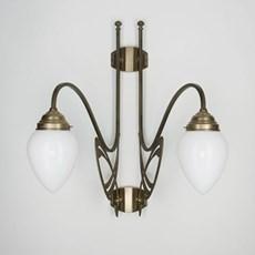 Victor Horta 2-lichts Wandlamp Elegantie