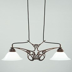 T-Hanglamp Jugendstil Fluitekruid
