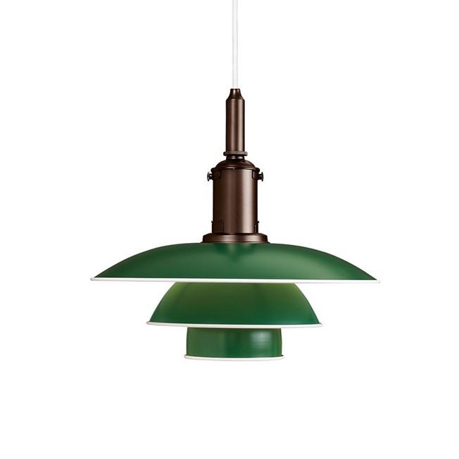 Louis Poulsen PH 3½-3 Hanglamp in groen