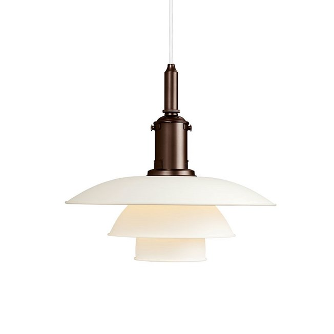 Louis Poulsen PH 3½-3 Hanglamp in wit