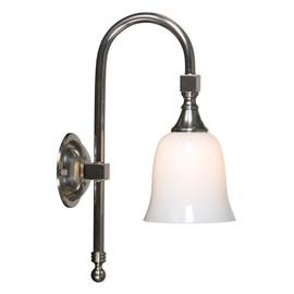 Badkamerlamp Classic Boog met Kubus Klok
