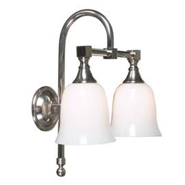 Badkamerlamp Classic Boog Dubbele Klok