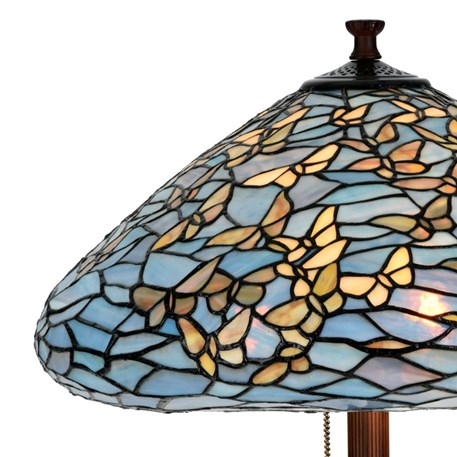 Tiffany Vloerlamp Fly Away Detail
