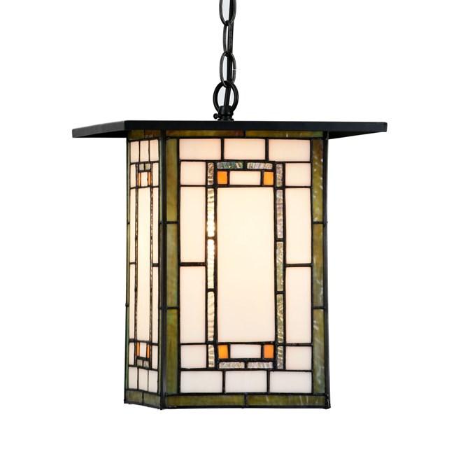 Tiffany Hanglamp Frank Lloyd Wright Oranje