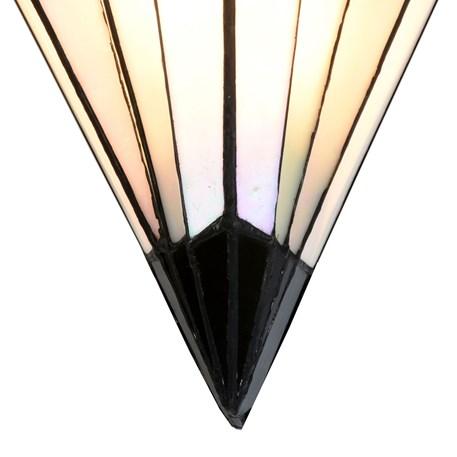 French Art Deco Tiffany Wandlamp Detail