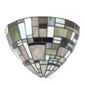 Wandlamp Tiffany Mosh Kelk