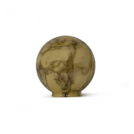 Marmeren glaskap bol 15cm