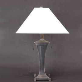 Tafellamp Curve met Linnen Kap
