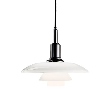 Louis Poulsen PH 3/2 Hanglamp Hoogglans Verchroomd