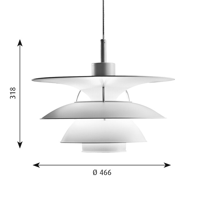 Hanglamp PH 5-4,5   Charlottenborg