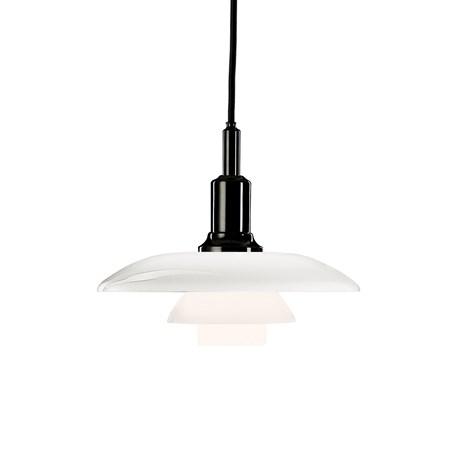 Louis Poulsen Hanglamp 3/2 Zwart Verchroomd