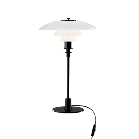 Louis Poulsen PH 3/2 Tafellamp Zwart Verchroomd