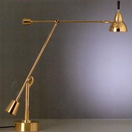 Tafellamp Buquet, Verguld/Verzilverd/Nikkel of Chroom.