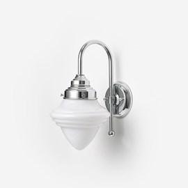 Wandlamp Acorn Meander Chroom