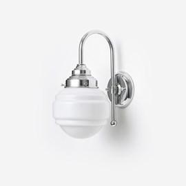 Wandlamp Polkadot Meander Chroom