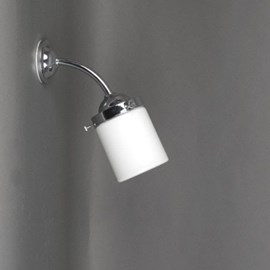 Buiten/ Grote Badkamer Wandlamp Cilinder