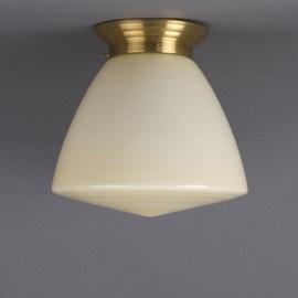 Plafonnière Schoollamp Zachtgeel