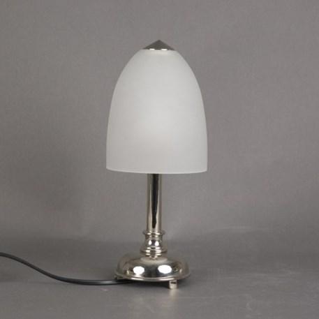 Badkamer Tafellamp Kleine Retro met glaskap Beker Geetst