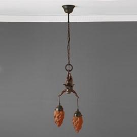 Cupido Hanglamp aan Ketting met 2 lampjes