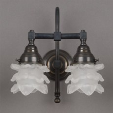 Badkamerlamp Flower met 2-Lichts Boog