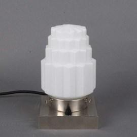 Tafellamp Met Diverse Glaskappen