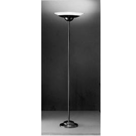 Vloerlamp met Metalen Onderschaal