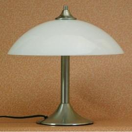 Tafellamp Medium met Glasschaal 33cm