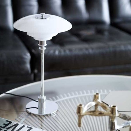 Sfeerimpressie Louis Poulsen PH 2/1 Tafellamp in glas