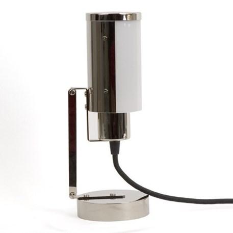 Multifuncionele lamp met snoer, stekker en draaischakelaar. Hier afgebeeld als tafellamp/bureaulamp.