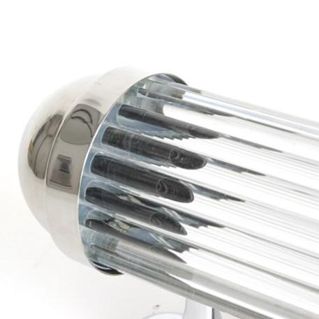 Detail foto glas staafjes Art Deco wandlamp Astoria