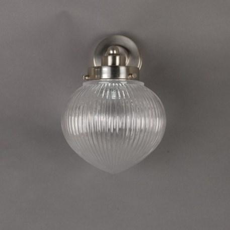 Vooraanzicht Wandlamp Industriebol