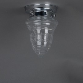 Badkamerlamp Plafonnière Kristalhelder