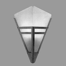 Wandlamp Art Deco Punt