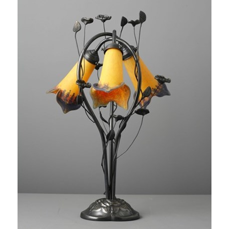 Jugendstil Tafellamp Flower