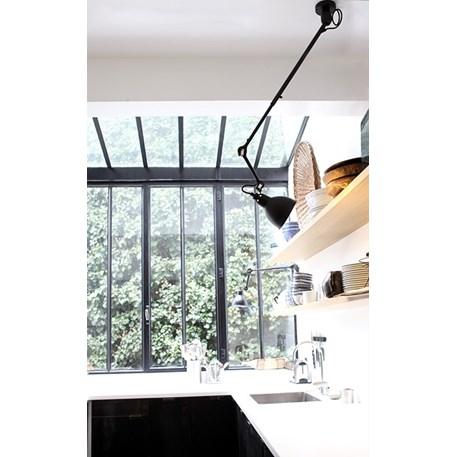Oplossing voor een verkeerd aansluitpunt; plafondlamp La Lampe Gras