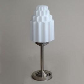 Tafellamp met bijzondere Art Deco kappen