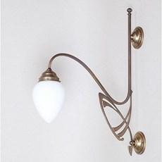 Victor Horta 1-lichts Wandlamp Elegantie