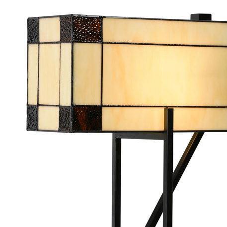 Tiffany Tafellamp Geometric Detail