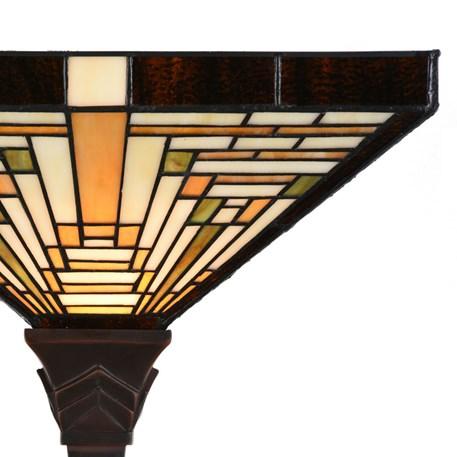 Tiffany Vloerlamp Rising Sun Detail