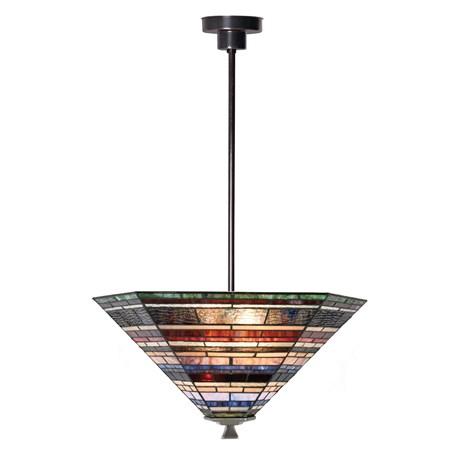 Tiffany Strakke Hanglamp Industrial